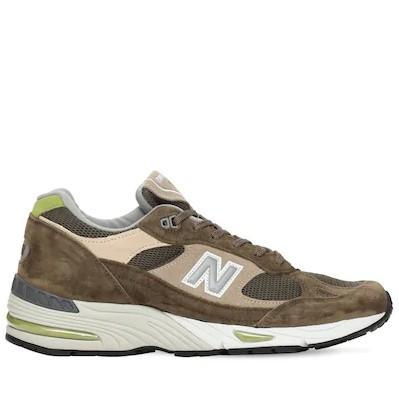 NEW BALANCE 橄榄绿 991 运动鞋 变相4.8折+高返12% 少量现货