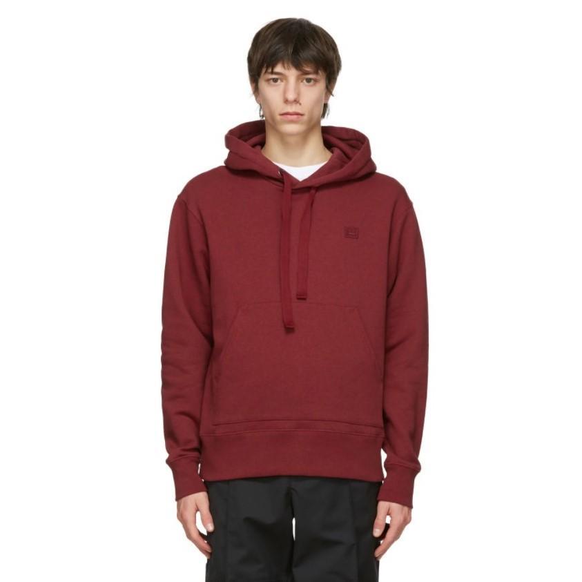 独家! SSENSE 独家发售 ACNE STUDIOS 红色连帽衫 4.1折 少量现货