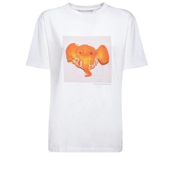 STELLA MCCARTNEY 大象印花T恤 5.6折+高返12% 码全