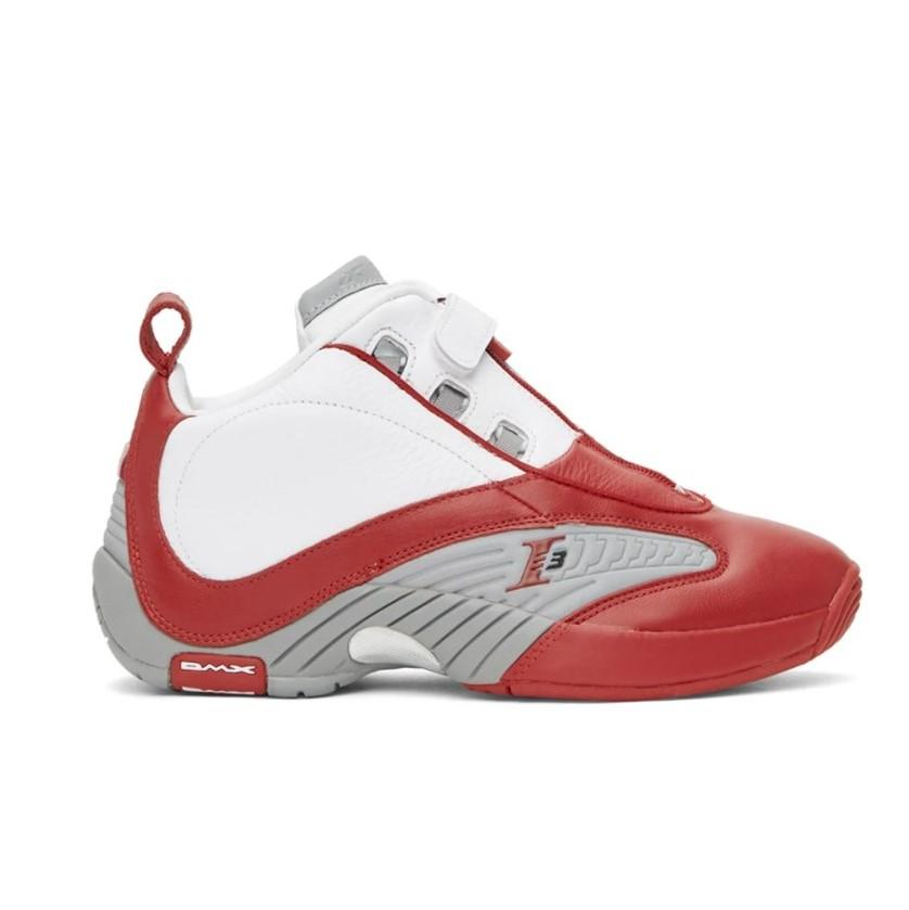 REEBOK CLASSICS Red & White Answer IV Sneakers