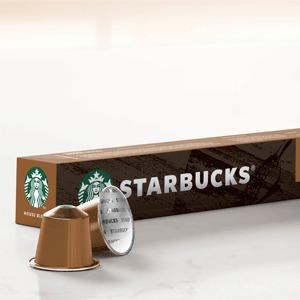 Starbucks 星巴克 Nespresso 中度烘焙 胶囊咖啡10粒*8盒