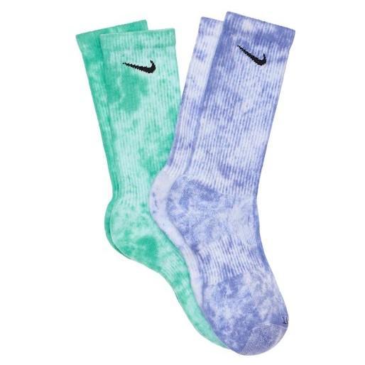 NIKE 高帮 扎染 袜子2双套装 多色 码全