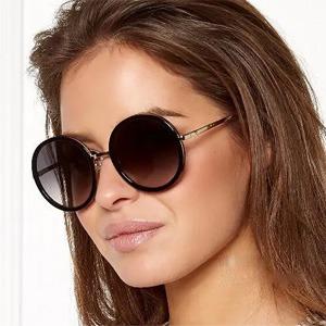 Kate Spade 女士复古玳瑁金色太阳镜