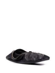MM6 Maison Margiela 拉链笔袋平底鞋
