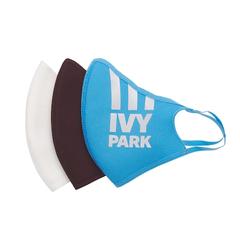 Adidas X Ivy Park联名反光口罩 三色装