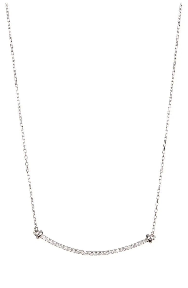 Swarovski Crystal Accented Pendant Necklace