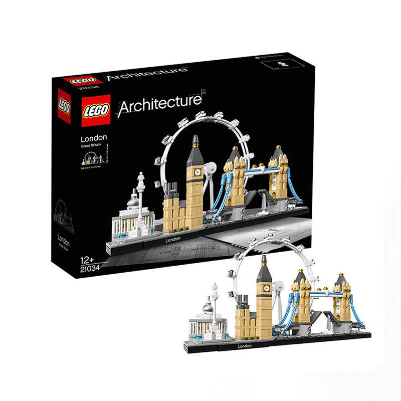 黑卡会员:LEGO 乐高 Architecture 建筑系列 21034 伦敦街景