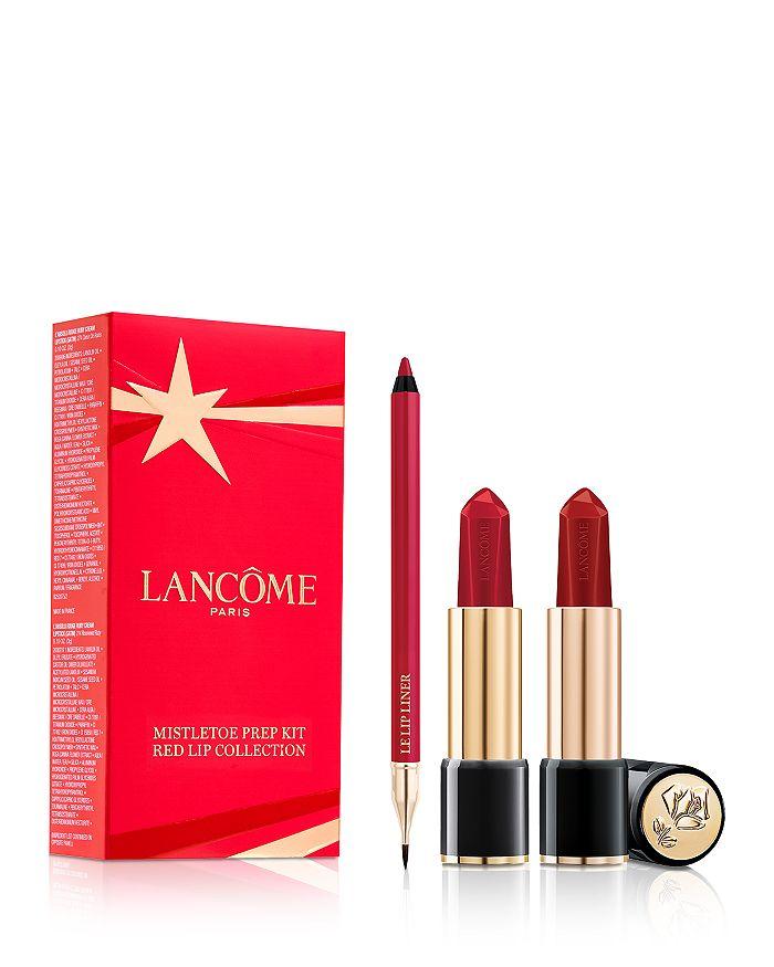 Lancôme Mistletoe Prep宝石唇膏3件套(价值$91)