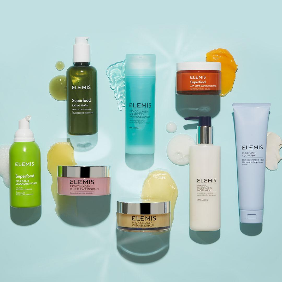 ELEMIS美国官网:精选清洁类护肤品买1送1