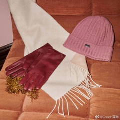 COACH Outlet:围巾、腰带专场 卡包$31,马车扣腰带$51