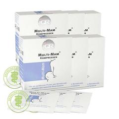 【6件装】MULTI MAM 睦清 舒缓修复乳贴 乳头保护贴 12片*6