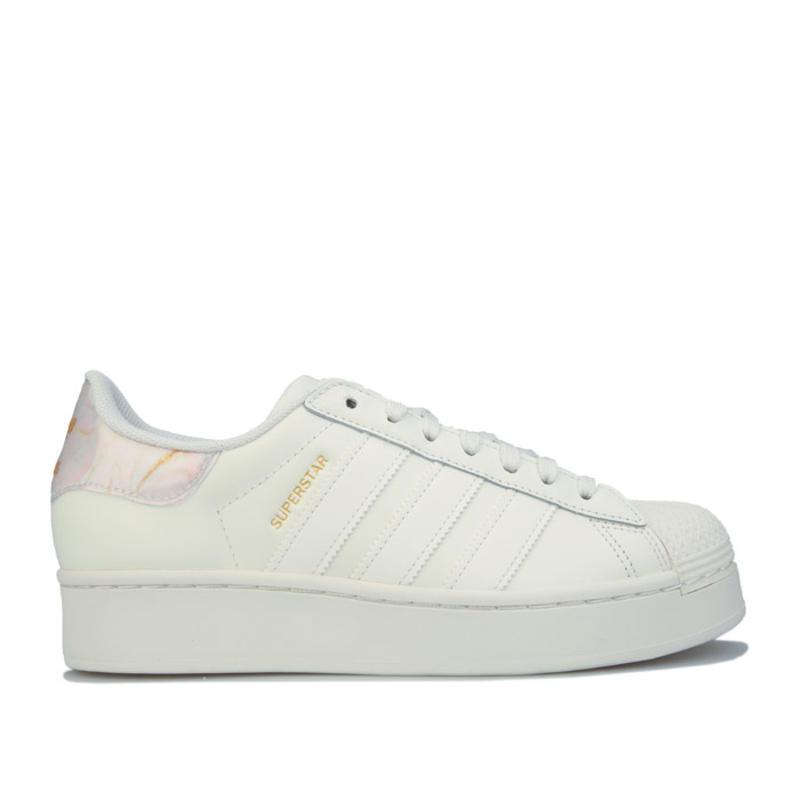adidas Originals女士 Superstar Bold 休闲运动鞋