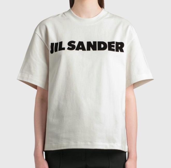 Jil Sander 经典logo T恤好价收
