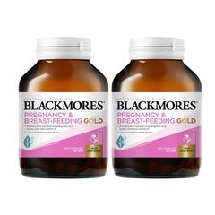 【2件包邮装】Blackmores 澳佳宝 孕期及哺乳黄金营养素胶囊 120粒x2