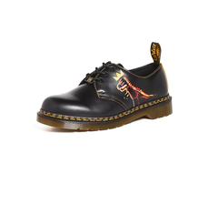 Dr.Martens 新品涂鸦牛津鞋马丁靴