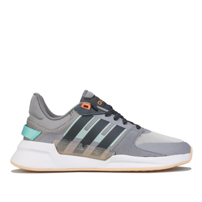 adidas 女士 Run 90s 复古运动鞋