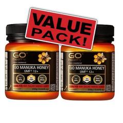 GO Healthy  高之源 UMF 12+ 麦卢卡蜂蜜两瓶装 250gx2