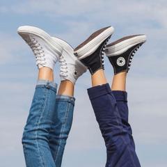 提前享:Converse 季中新品狂促 小香风编织款、奶油配色半价收