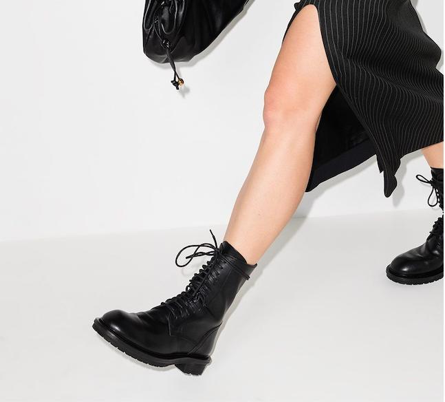 Ann Demeulemeester 经典短靴限时好价