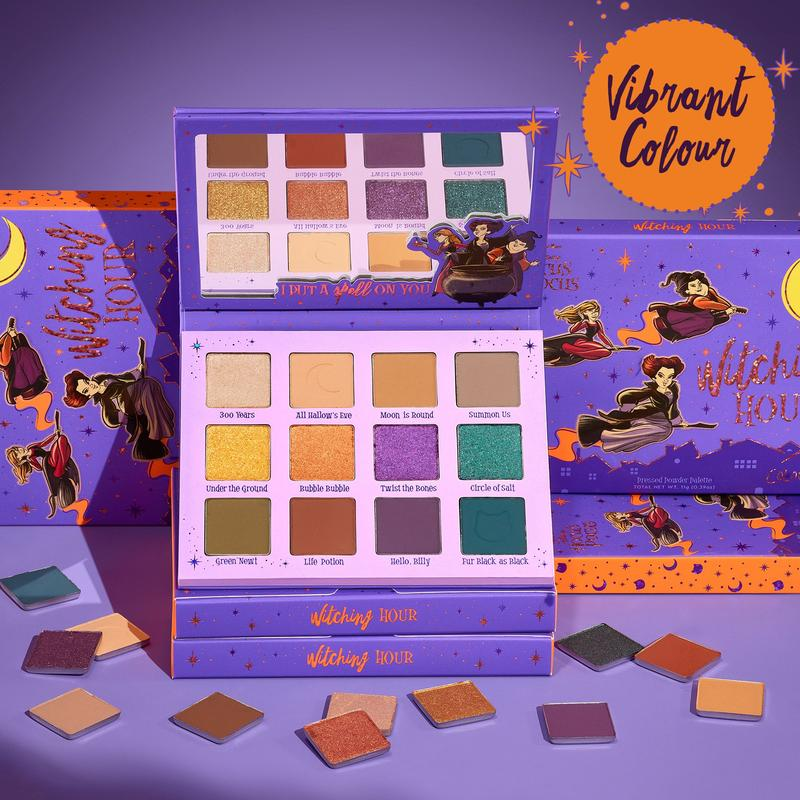 ColourPop 卡泡 万圣节女巫限定眼影盘witching hour