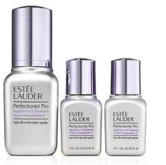 上新!Estée Lauder Perfectionist Pro线雕小银瓶套装(30ml+15ml*2)