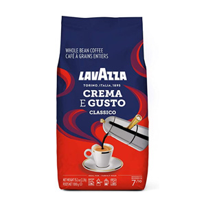 Lavazza 乐维萨 Crema E Gusto 深度烘焙 经典咖啡豆 1000g
