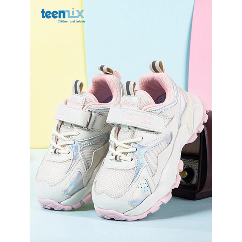 PLUS会员:TEENMIX 天美意 儿童休闲运动鞋