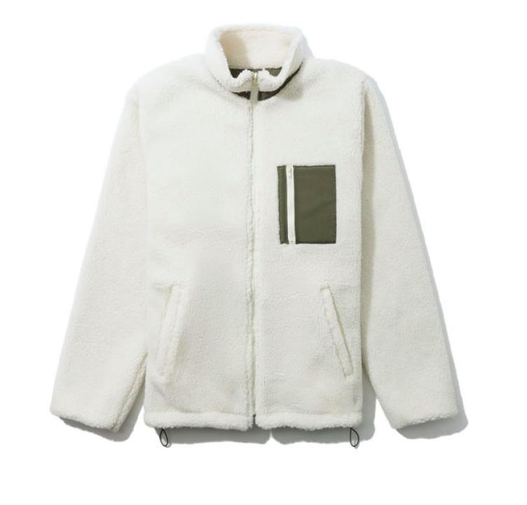 小i.t.:jouetie基本款两面穿摇粒绒夹克