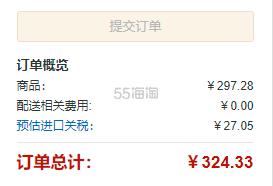 【亚马逊海外购】Abbott 雅培 Similac 小安素 香草味 400g*6件