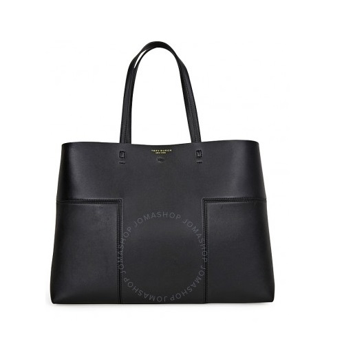 Block-T Leather Tote