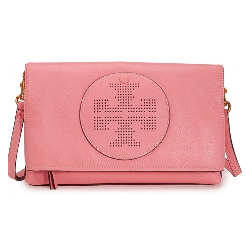 Perforated Logo Fold Over Crossbody