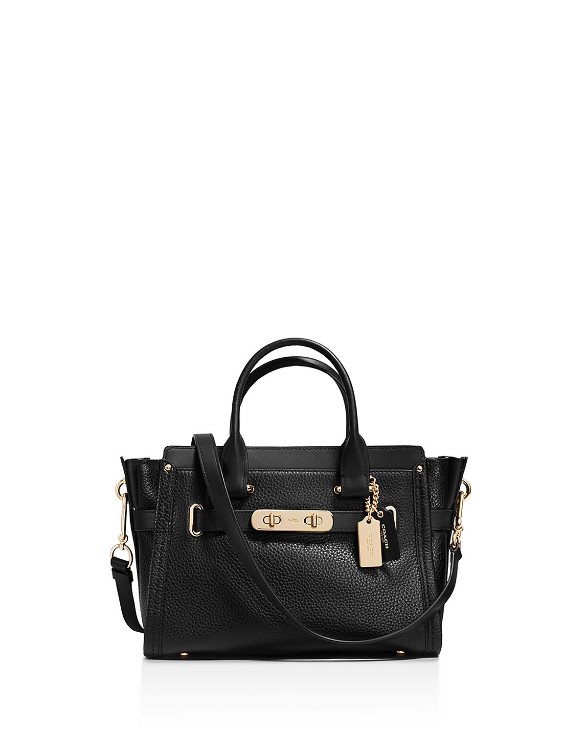 Swagger 27 Small Satchel in Pebble Leather