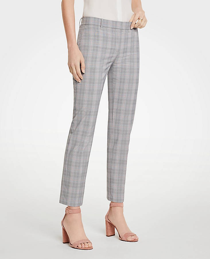The Ankle Pant In Plaid