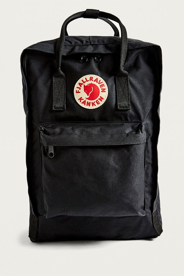 Fjallraven Kanken Big Black Backpack