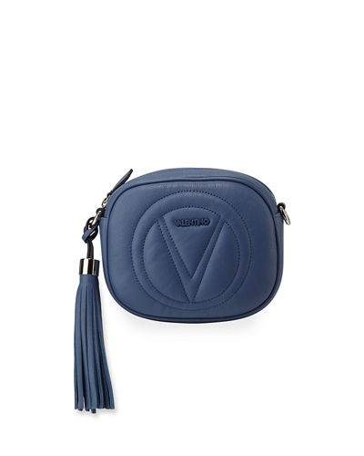 Valentino By Mario Valentino Nina Sauvage Leather Crossbody Bag