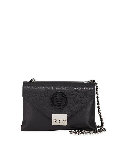 Valentino By Mario Valentino Isabelle Small Leather Crossbody Bag