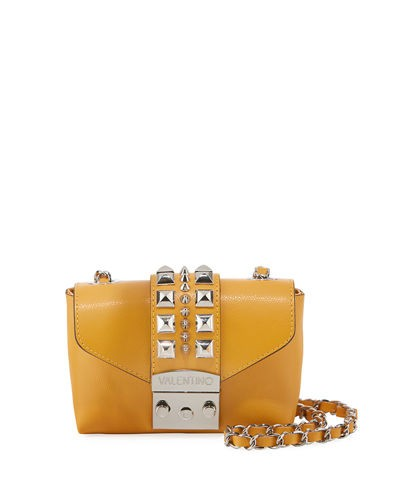 Valentino By Mario Valentino Paulette Studded Small Crossbody Bag