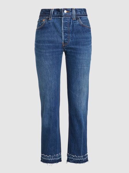 RE/DONE‎ Stove Pipe Cropped Jeans