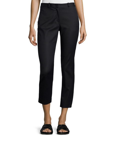 Joseph Eliston Sateen Ankle Trousers