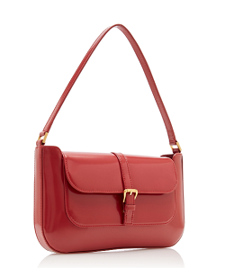 by FAR Miranda Patent Leather Shoulder Bag