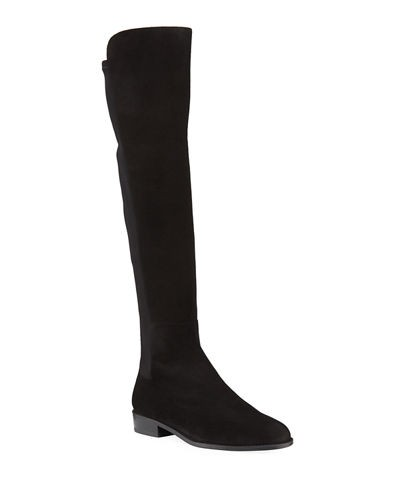 Stuart Weitzman Mainstay Suede Over-the-Knee Boot