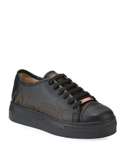 Dalia Leather Logo Platform Sneakers   Dalia Leather Logo Platform Sneakers   Dalia Leather Logo Platform Sneakers   Dalia Leather Logo Platform Sneakers Valentino By Mario Valentino Dalia Leather Logo Platform Sneakers