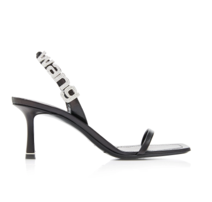 Click Product to Zoom LAUREN'S CLOSET Alexander Wang Ivy Embellished Slingback Sandals