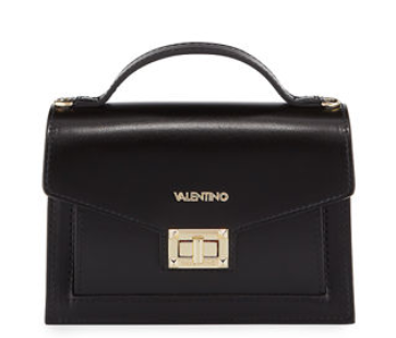 Valentino By Mario Valentino Titti Medium Leather Shoulder Bag