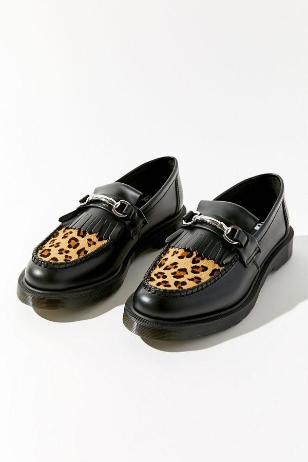 Adrian Snaffle 豹纹乐福鞋