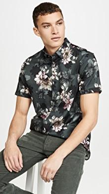 Ted Baker Verre 花朵短袖衬衣