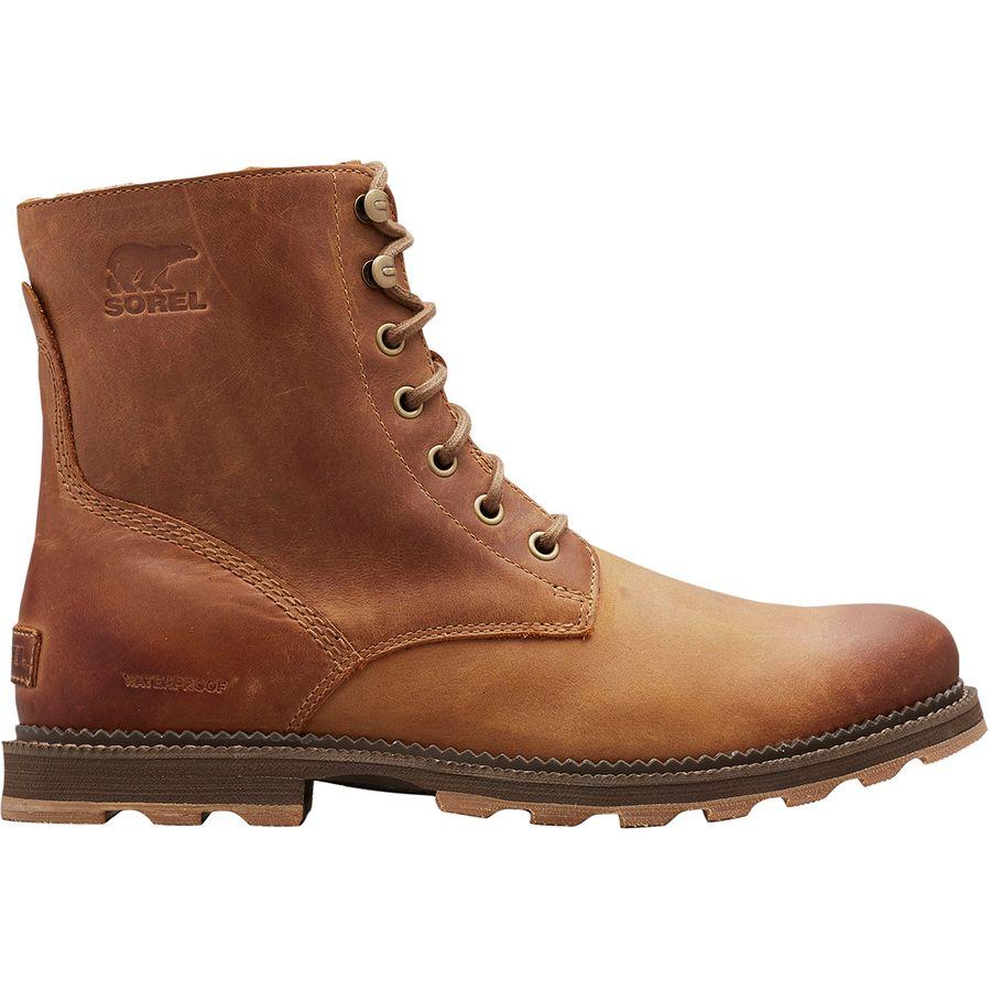 男士棕色靴