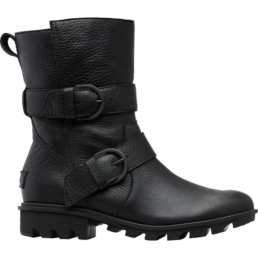 女士黑色靴