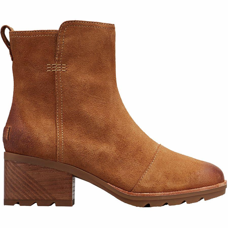 女士棕色靴