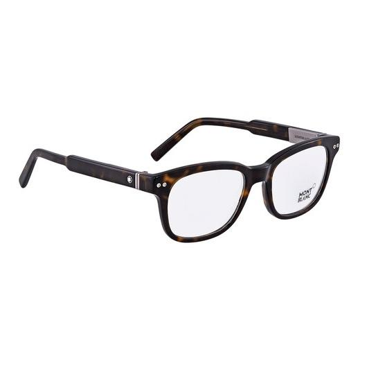 棕色男士方形眼镜